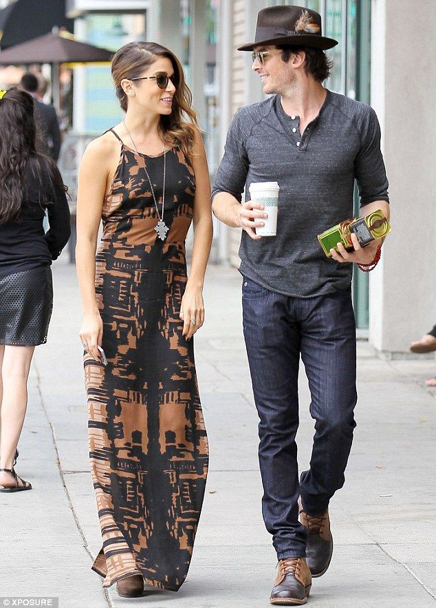 Nikki Reed flashes her underwear in skimpy tank top as she heads ...