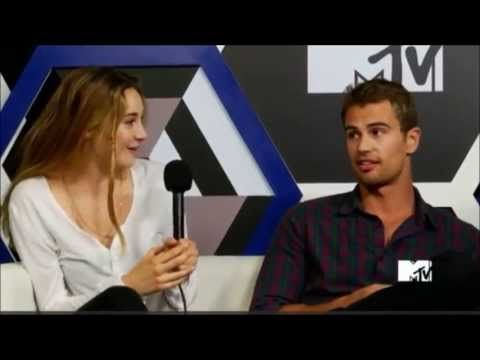 Divergent Cast Funny Moments Omg couldn't stop laughing Theo,Shailene, and Veronica are hilarious!