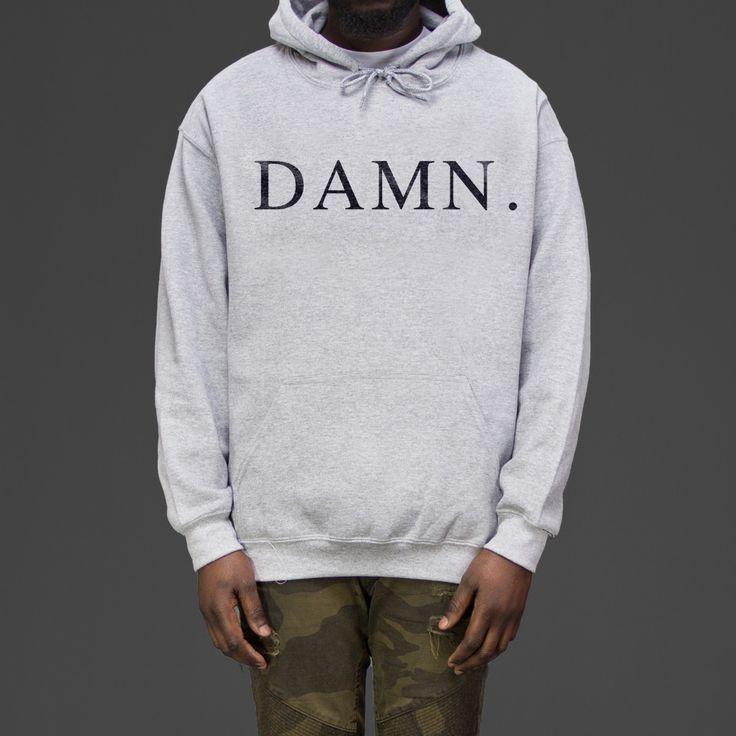 Kendrick Lamar Damn Hoodie