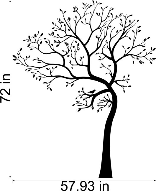 bedroom decal - On its way in white - SO EXCITED