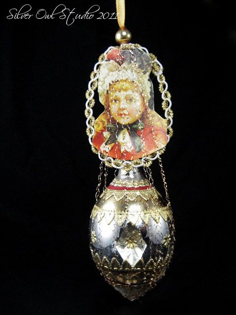 Best victorian and vintage style christmas ornaments