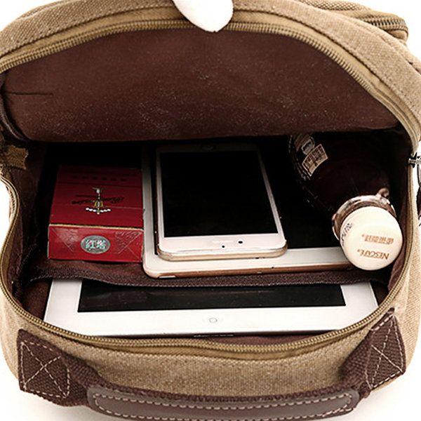 Vintage Patchwork Canvas Chest Bag Sling Bag Crossbody Bag Shoulder Bag For Men