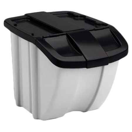Perfect for pet food...Found it at Wayfair - Storage Trends 18 Gallon Stacking Bin