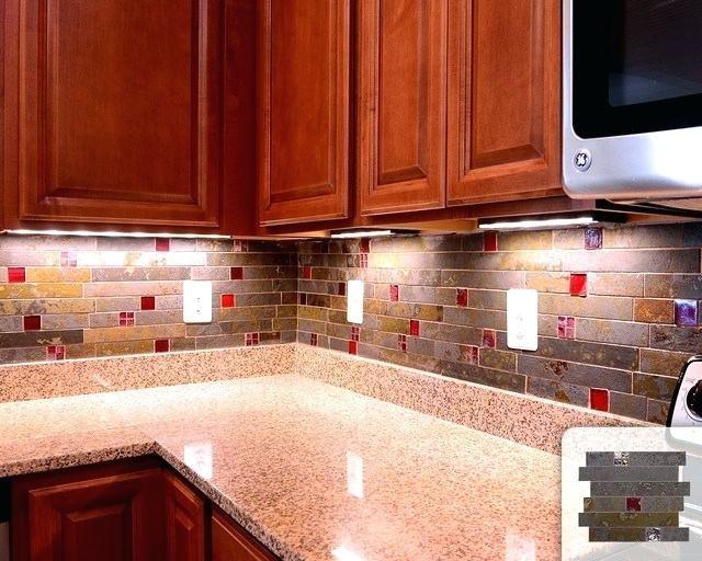 Red Kitchen Backsplash Andreifornea Com Red Subway Tile Backsplash Glass Tile Backsplash Kitchen Kitchen Tiles Design