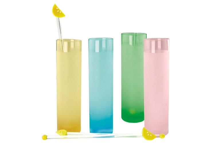 my ultimate summer day, I'd have swizzle sticks in all of my drinks.: 8 Pc Glasses, Summer Stuff, Summer Day, Summer Drinks, Artland 8 Pieces, Swizzl Sticks, Artland 22 00, 8Pc Glasses, Sticks Sets