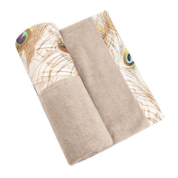Peacock Love Towel