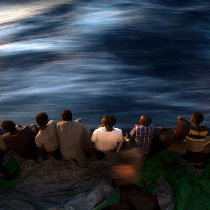 Today, June 20, is World Refugee Day, where countries around the globe commemorate the strength, courage and perseverance of millions of refugees.⠀ ⠀ In this picture, migrants and refugees stand on the deck of the rescue vessel Golfo Azzurro after being rescued by Spanish NGO Proactiva Open Arms workers on the Mediterranean Sea, on June 16.⠀ ⠀ Last week, a Spanish aid organization rescued more than 600 migrants who were attempting the perilous crossing of the Mediterranean Sea to Europe in…