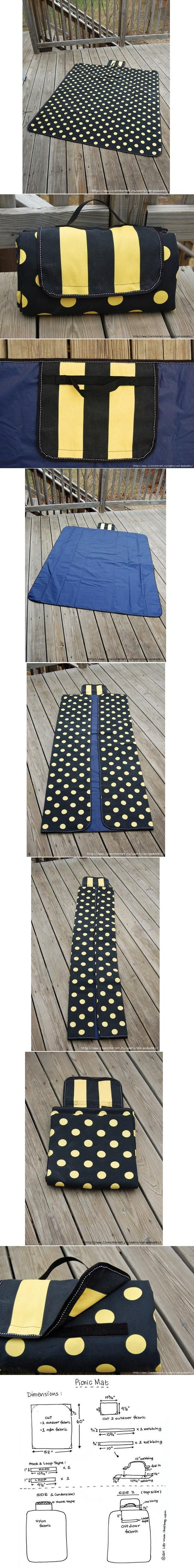 DIY Picnic Mat DIY Projects | UsefulDIY.com