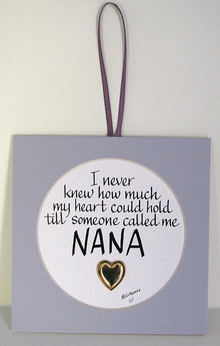 89 best Nana images on Pinterest   Grandkids, Grandchildren and ...