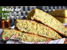 khobz dar constantinois au beurre moelleux et léger recette cuisine algérienne / pain de semoule - YouTube