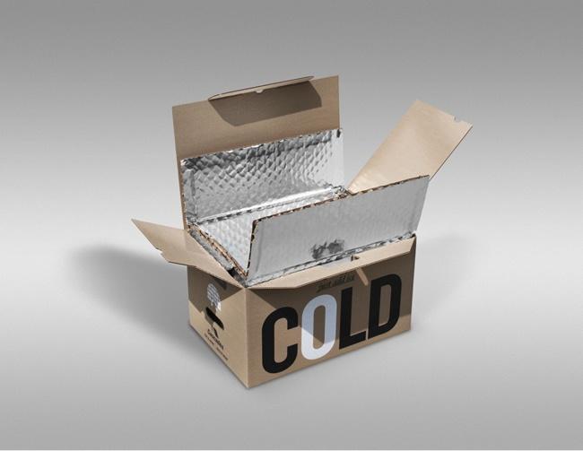 Cooler sustentável com 70% de material reciclável - Design Atento