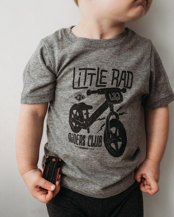 Little Rad Riders Club, perfect for the two-wheel enthusiasts who appreciate a comfy t-shirt.  Made in Canada of a 50/50 polyester cotton blend, these t-shirts have a fantastic fit and …
