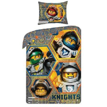 lenjerie-de-pat-cavalerii-lego-nexo-knights