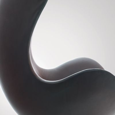 Close up, The Egg Chair by Arne Jacobsen, 1958.
