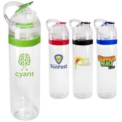 Promotional Tritan 20 oz. Traveler Water Bottle Item #PL-4182 (Min Qty: 19). Customize your Promotional Water Bottles with your company logo and with no setup fees.