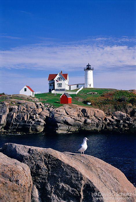Cape Neddick Lighthouse, Nubble Lighthouse, Maine