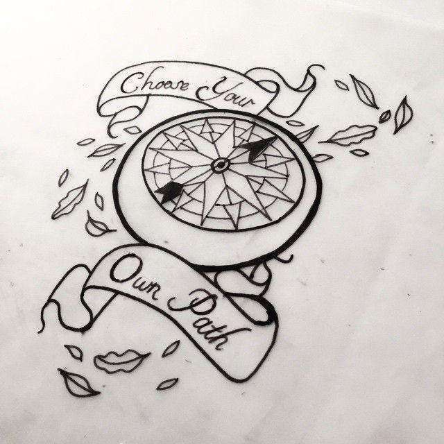Image result for pocahontas compass tattoo