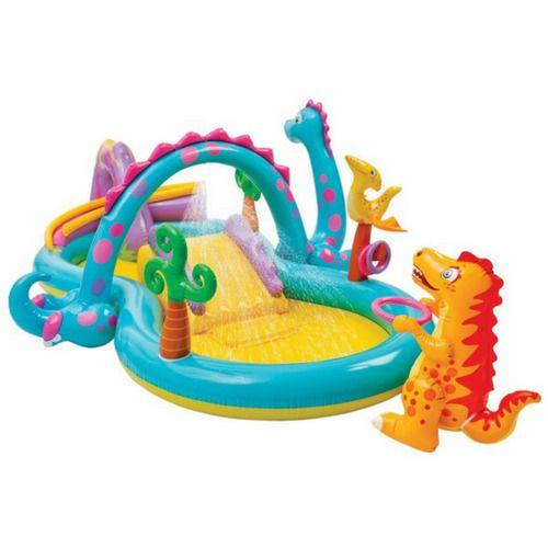 Pool Kids Inflatable Water Spray Slide Paddling Play Center Swimming Kids Splash