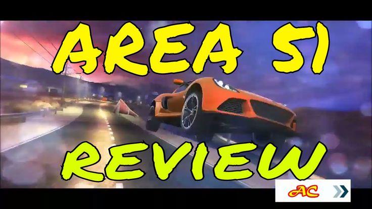 ASPHALT 8 AIRBORNE AREA 51 walkthrough review gameplay  asphalt xtreme d...