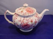 johnson brothers england teapots | ... Johnson Bros Rose Chintz Floral Teapot Tea Pot & 584 best JOHNSON BROTHERS images on Pinterest | Johnson bros ...