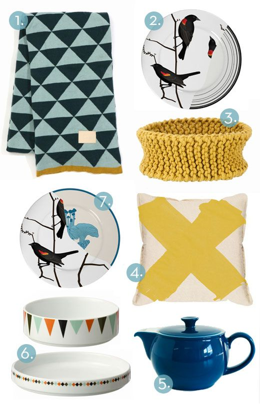 Homewares at From The Owl: Colour Combinations, Www Fromtheowl Com, Owl Lifeinstyl, Crafty Crafty, Blue Yellow, Lighting Blue, Colour Palette