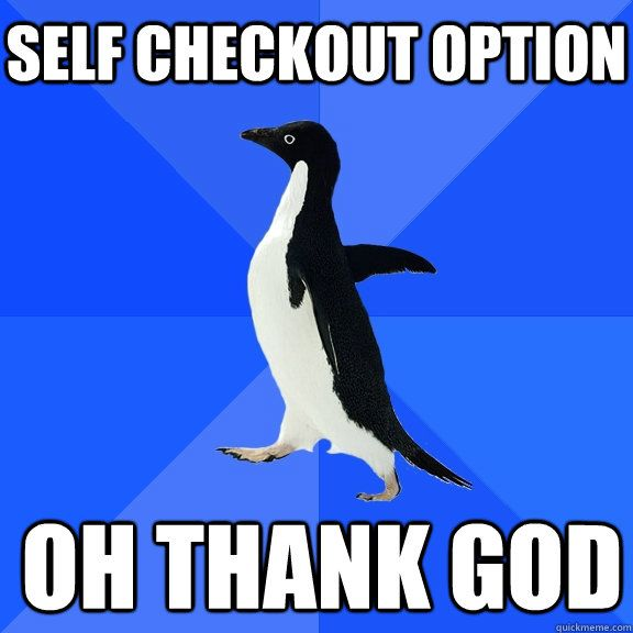 Meme: Socially Awkward Penguin-- This is more me than I'd like to admit...
