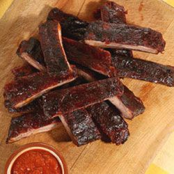 This delicious recipe for Oven-Roasted Ribs is from Martha Stewart Living, May 2005.