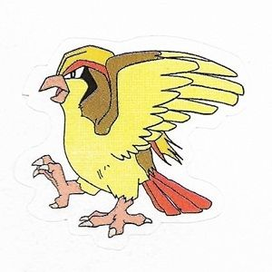 Pokemon Pidgeot small sticker 5206-018