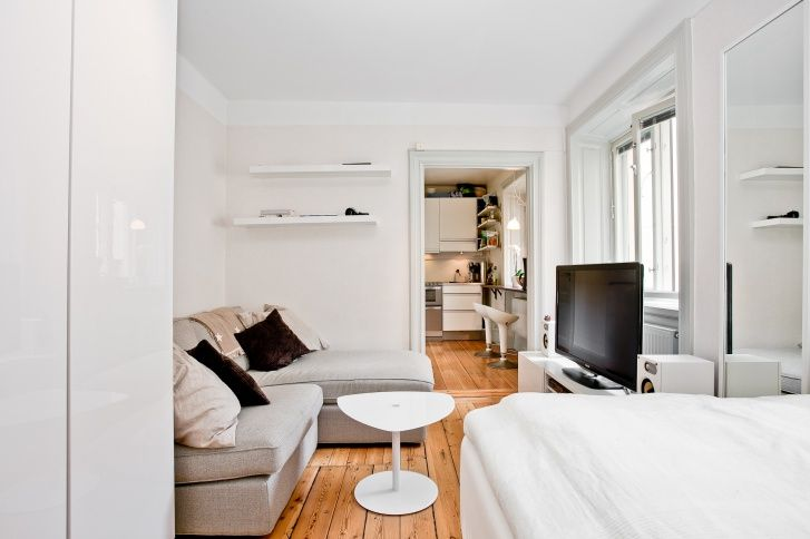 1 745 000 kr/23sq.m. 1314 kr/mån well equipped compact apartment for single person