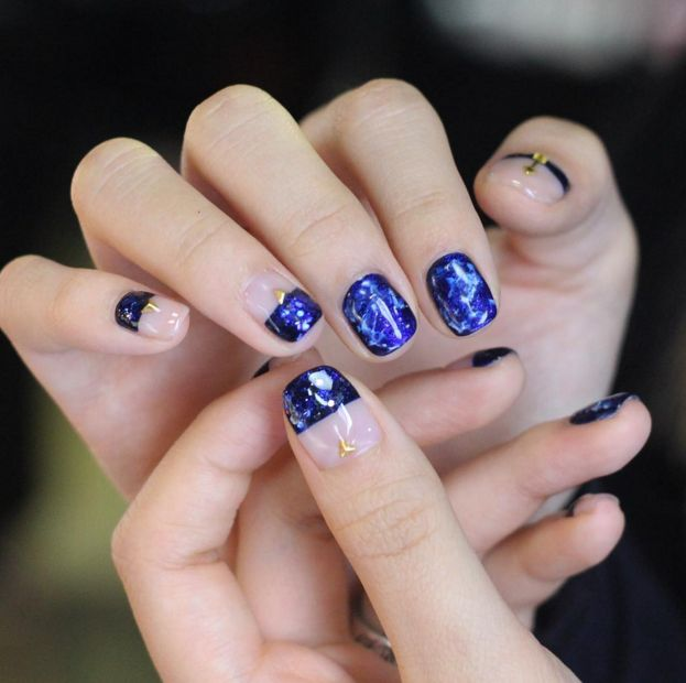 Take our quiz to find out which #Korean #nail trend is made for you.