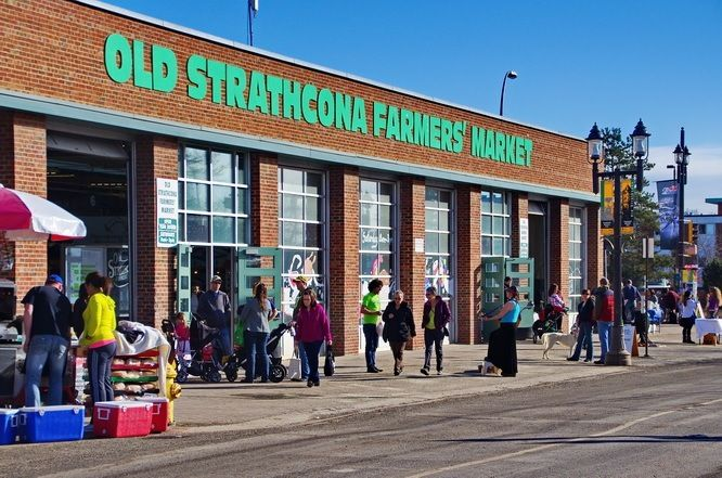 The Old Strathcona Farmer's Market, Edmonton