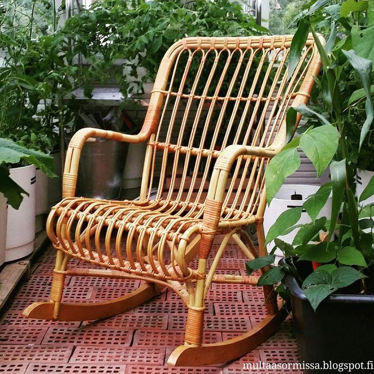 Keinutuoli, kasvihuone, greenhouse, växthus