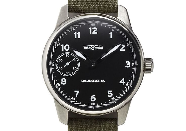"""Revised Weiss Watch Company Standard Issue Field Watch Now Packs More US-Made Key Components - by David Bredan - See more on aBlogtoWatch.com """"It has been only a few months since Ariel reviewed the Weiss Standard Issue Field Watch, and yet we are returning to the very same model to share a brief – and most welcome – update related to the making of this piece... We pointed out that a majority of the parts of this Weiss watch are made in the US..."""""""