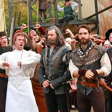 Hot: Galavant cast makes epic music video to thank fans trying to save show