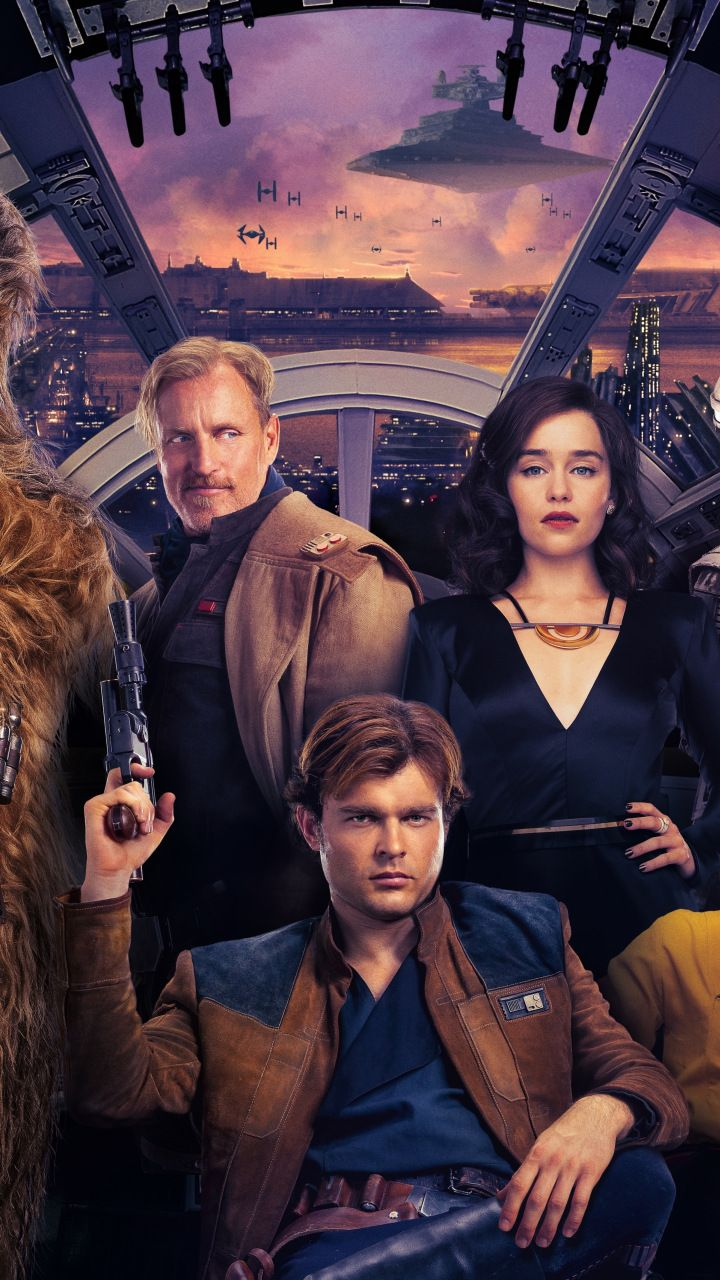 Solo A Star Wars Story Qira Lando Calrissian Han Solo 720x1280 Wallpaper Hans Solo Star Wars War Stories
