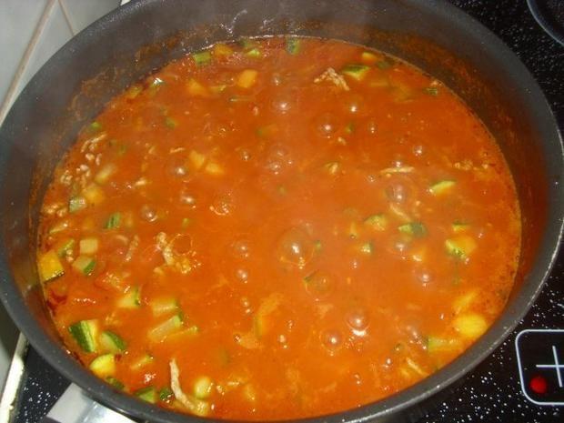 Rezept: Zucchini-Hackfleisch-Pfanne Bild Nr. 2