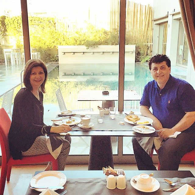 Our guests enjoy their breakfast at #SamariaHotel Photo credits: @jandem4