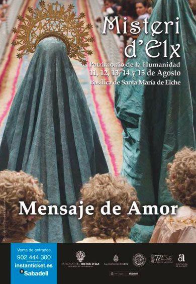Mensaje de amor. Campaña publicitaria #MisteridElx 2014 realizada por @grupoanton