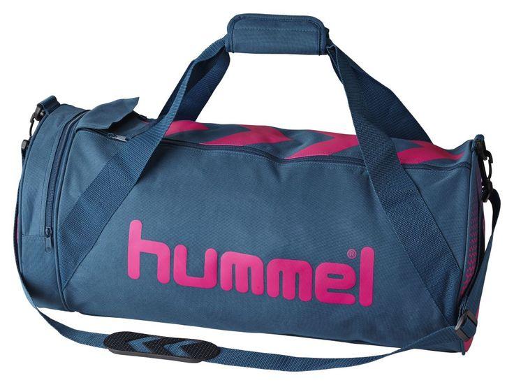 Hummel Sporttasche Rebel http://www.handballhaus.de/shop/handball-sporttaschen/hummel-taschen/hummel-rebel-sporttasche-l-blau-pink.html