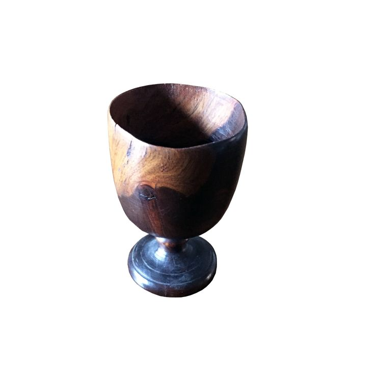 Buy Treen Cup c. 1880 by Maxine Snider Inc. - Limited Edition designer Accessories from Dering Hall's collection of Arts and Crafts Georgian Victorian Tabletop.