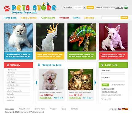10 best images about Other Webstore Templates on Pinterest ...