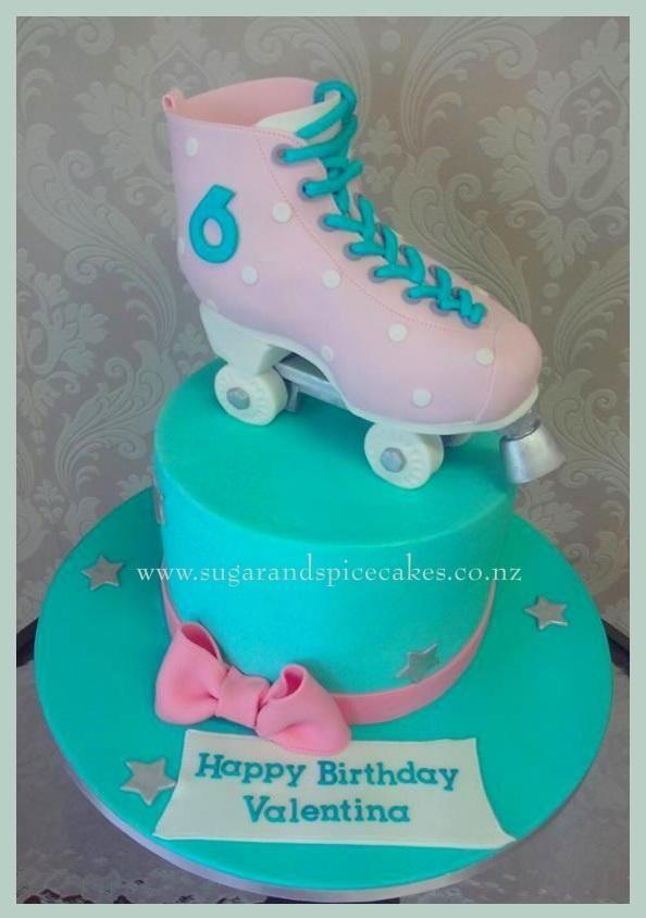 Roller Skate Cake By Mel Sugarandspicecakes Cakes Amp Cake