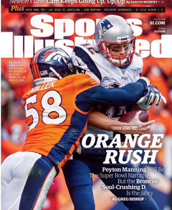 NEW YORK -- The Broncos defense was the story of the Sunday in a 20-18 win over the New England Patriots in the AFC Championship Game that earned them a trip to Super Bowl 50. Linebacker Von Miller...