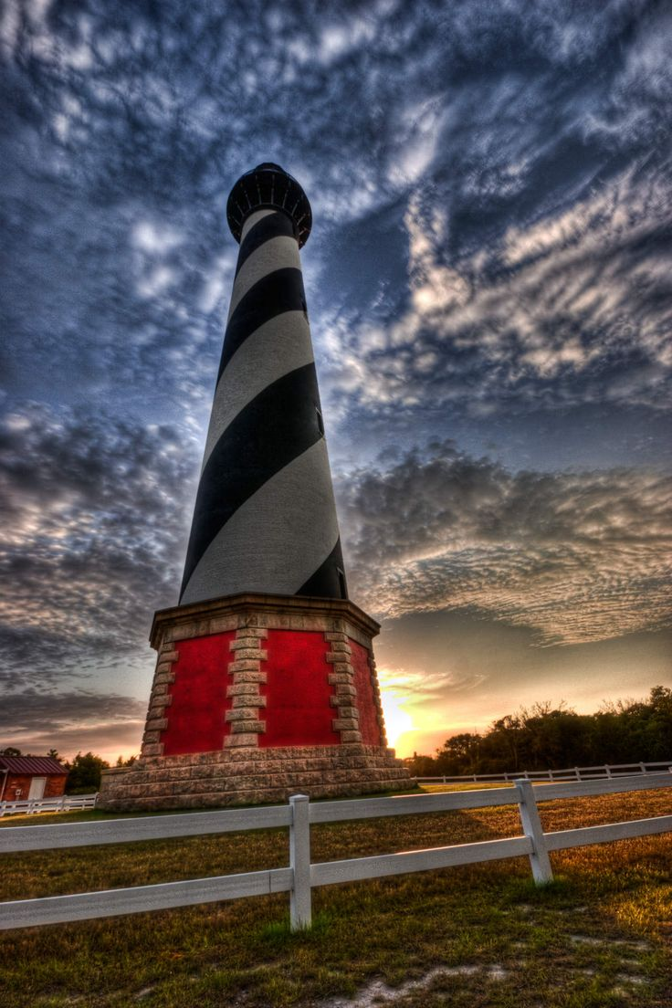 Cape Hatteras Lighthouse, photo by A. Strakey via  13 experiences you can only have in North Carolina - Matador Network