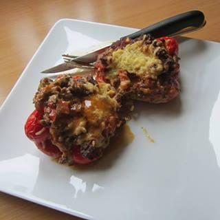 gevulde paprika 2
