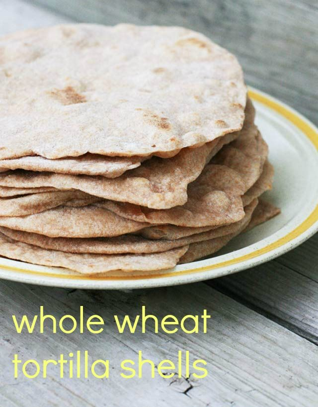 How to make homemade whole wheat tortilla shells (with coconut oil) - Healthy, cheap, and delicious recipe!
