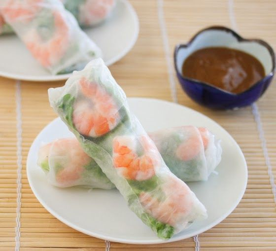 Fresh Vietnamese Shrimp Spring Rolls (with step by step)   Kirbie's Cravings   A San Diego food blog