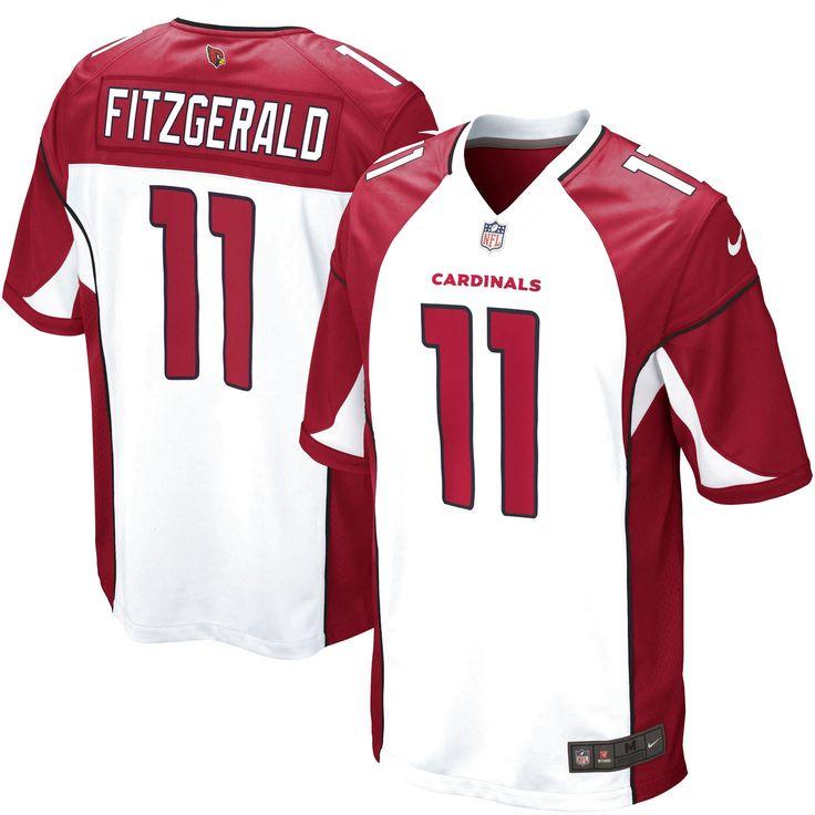 Larry Fitzgerald Arizona Cardinals Nike Game Jersey - White - $99.99