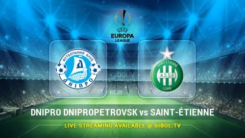 Dnipro Dnipropetrovsk vs Saint-Étienne (22 Oct 2015) Live Stream Links - Mobile streaming available