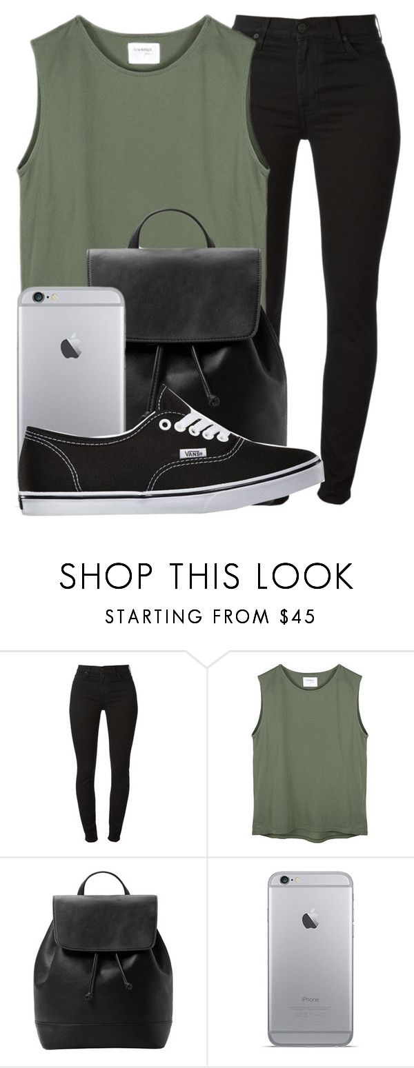 """Novacane ✘ Frank Ocean"" by shermeacka ❤ liked on Polyvore featuring 7 For All Mankind, MANGO and Vans"